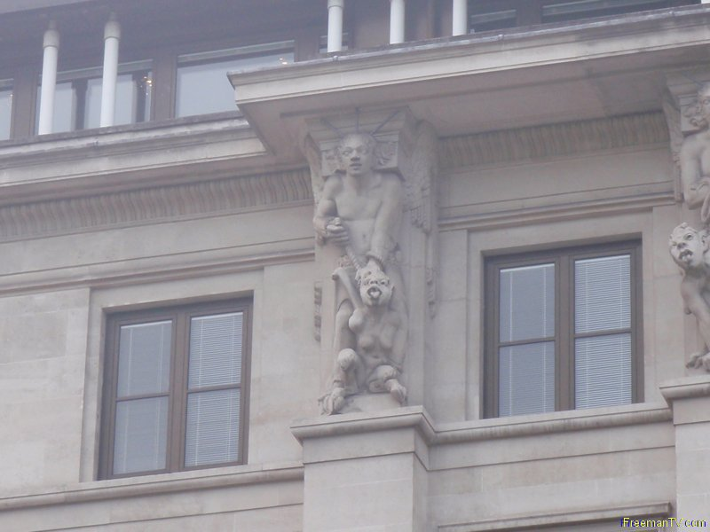 33 Grosvenor Place, London Angel and Demons