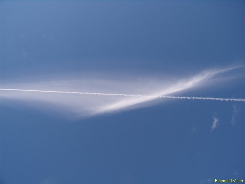 It\'s Chemtrails!