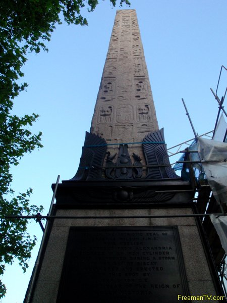 Cleopatra Needle London