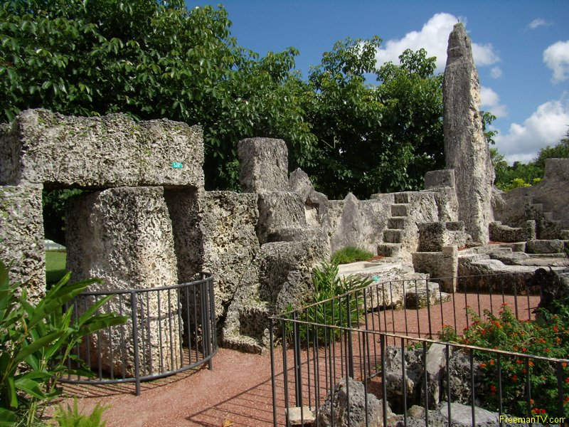 Coral Castle 9 Ton Gate