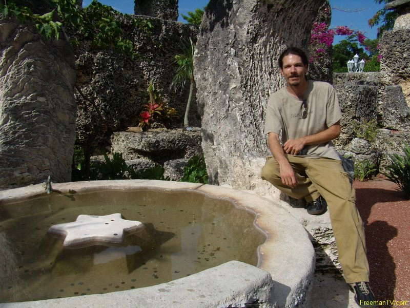 Coral Castle Star Pool