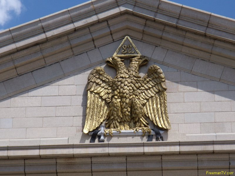 32 Freemason Double-Headed Eagle