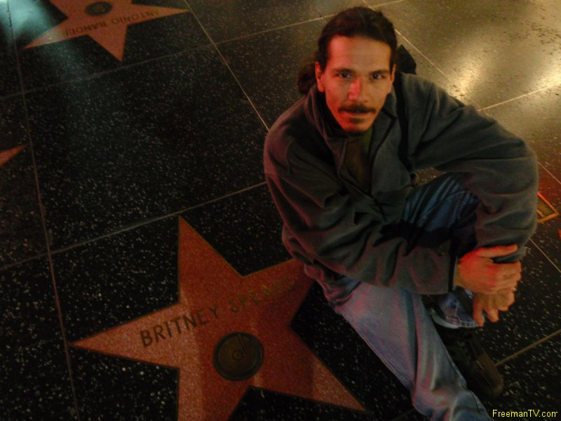 Freeman Britney\'s Star