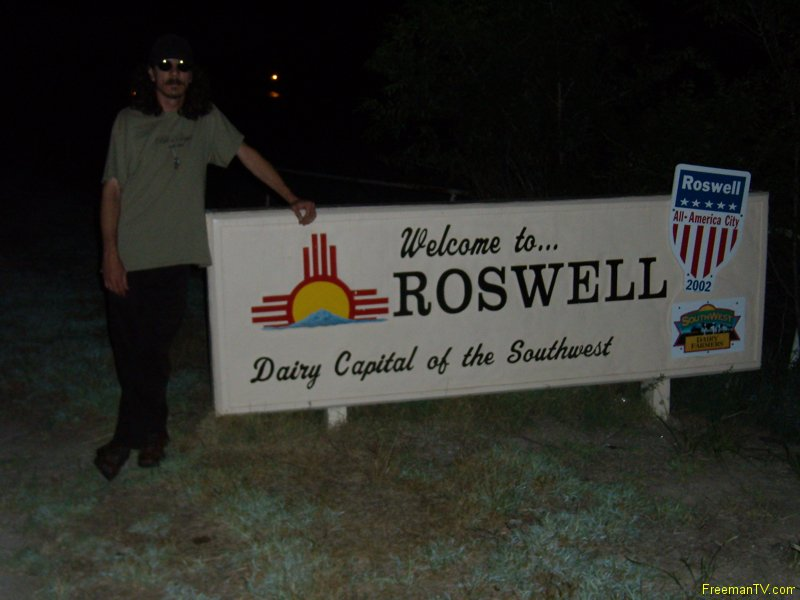 Freeman at Roswell
