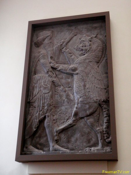 Gilgamesh and Lion