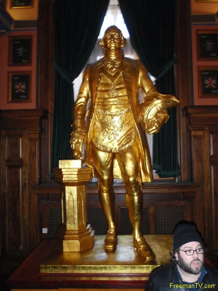 Freemason Gold George Washington