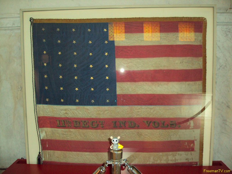 Old American Flag Grant\'s Tomb