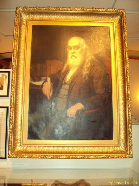 Masonic Philosopher Albert Pike