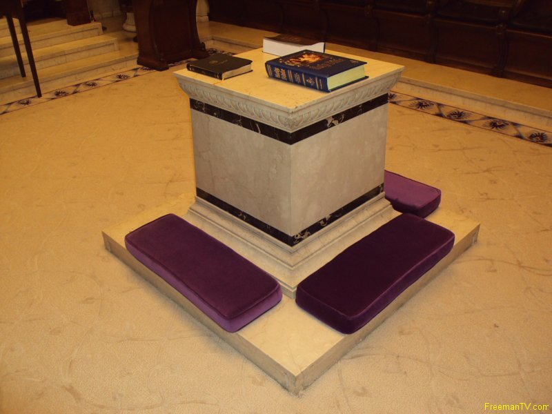 House of the Temple Scottish Rite Altar