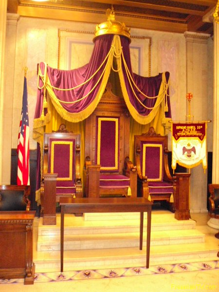 house-temple-33rd-supreme-council-throne