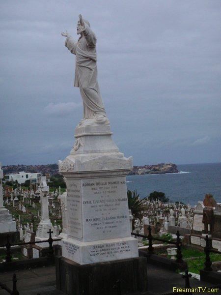 Jesus Freemason Graveyard Australia
