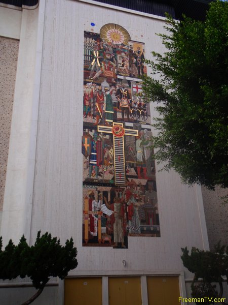 Los Angeles Freemason Mural