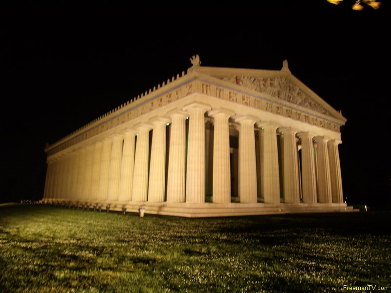 Parthenon Nashville at Night