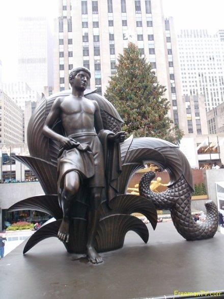 Merfolk Golden Prometheus Rockefeller