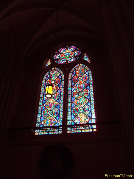 St. John's Cathedral Stained Glass Window