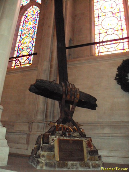 Inverted Cross 9/11 St. John's Cathedral