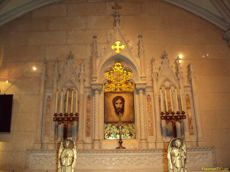 Jesus at St. Patrick Cathedral