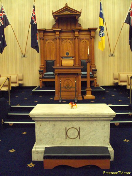 Sydney Worshipful Master Throne