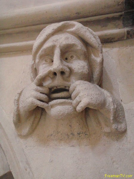 Temple Church Your Face Will Stay Like That!