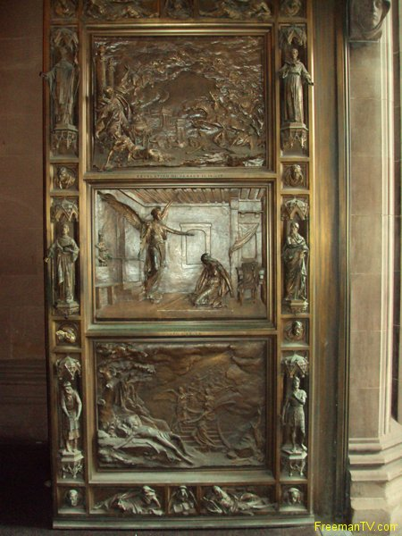 Doors to Trinity Church