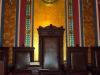 NY Grand Lodge Freemason Throne