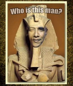 Obama's birth certificate was carved in stone.
