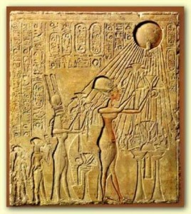 Akhenaten+Aten
