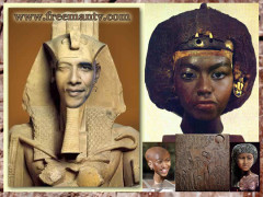 Obama Clone of an Egyptian Pharaoh