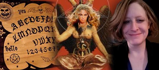 Beyonce Baphomet