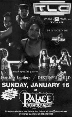 TLC 1999-Tour Poster