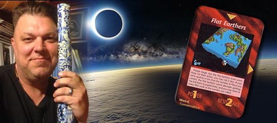 Flat Earth Illuminati Card Game – Jeffrey Grupp