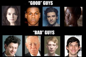 STAR WARS Good guys bad guys