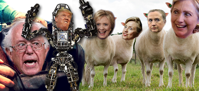 Trump Hillary Bernie – What Matters?
