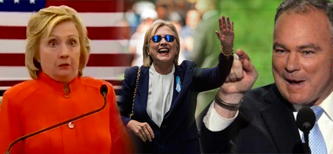 Hillary's Health Raising Kaine to Globalism – James Perloff