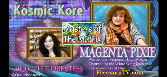 The Masters of the Matrix – Magenta Pixie